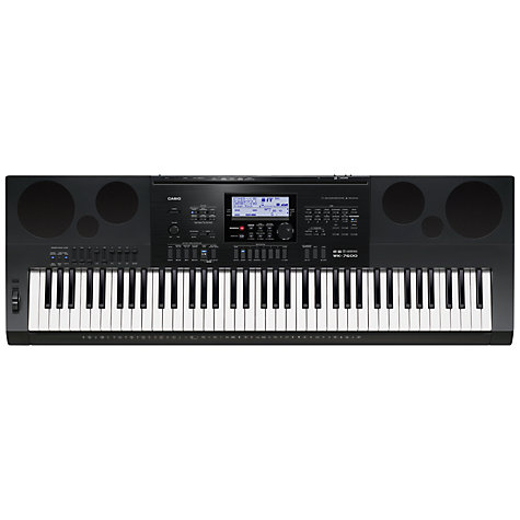 Buy Casio WK-7600 76 Key Keyboard Online at johnlewis.com