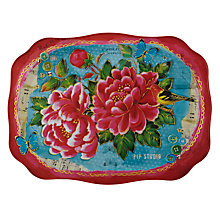 Buy PiP Studio Floral Rectangular Tray Online at johnlewis.com