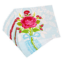 Buy Pip Studio Floral Paper Napkins, Pack of 20 Online at johnlewis.com