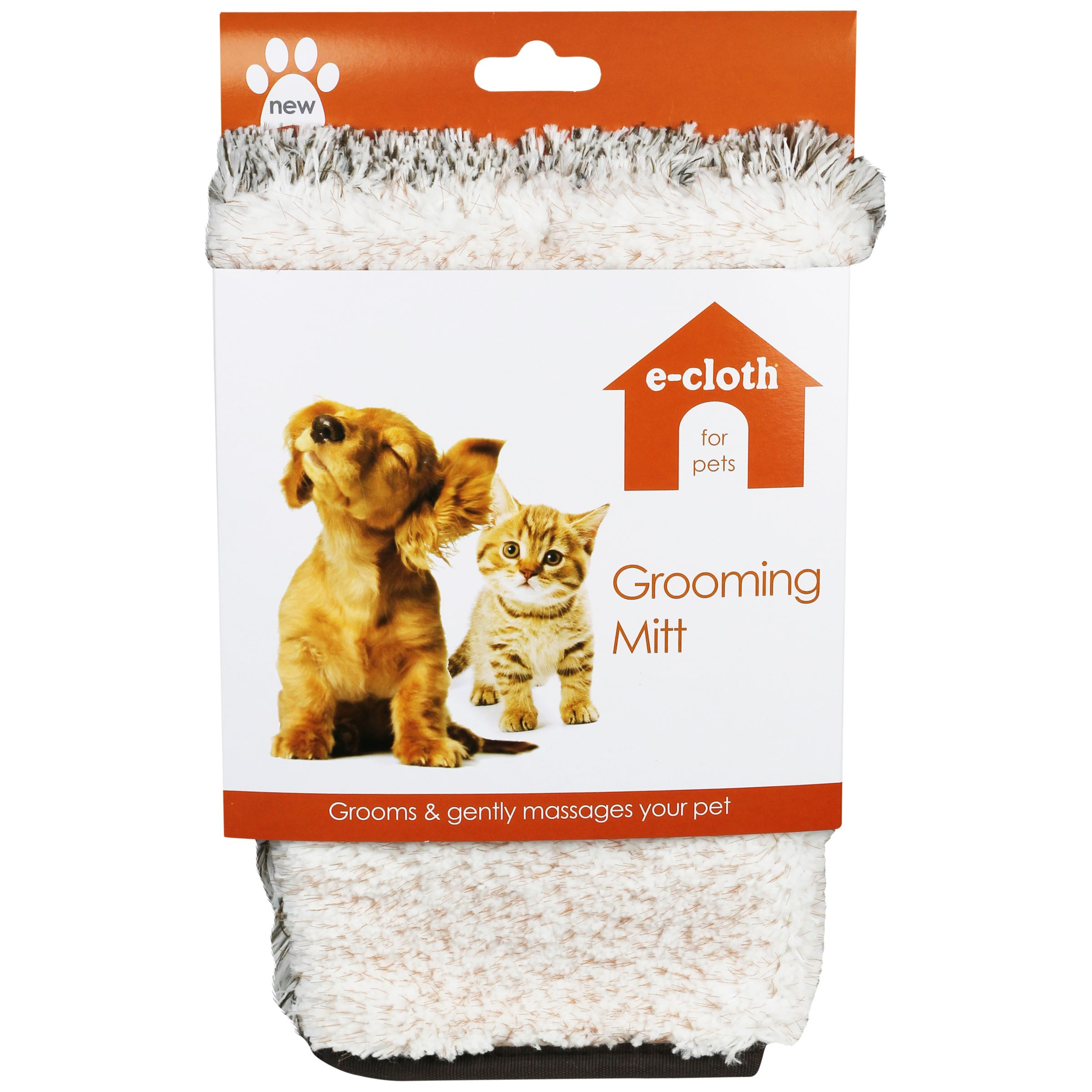 E-Cloth Pet Grooming Mitt