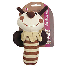 Buy Rosewood Natural Nippers Cuddle Plush Puppy Rattle Online at johnlewis.com