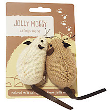 Buy Rosewood Jolly Moggy Mice, Pack of 2 Online at johnlewis.com