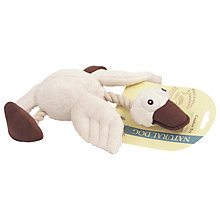 Buy Rosewood Natural Dog Wildlife Duck Dog Toy Online at johnlewis.com