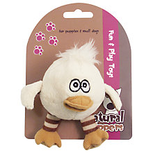 Buy Rosewood Natural Nippers Bouncy Bird Puppy Ball Online at johnlewis.com