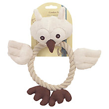 Buy Rosewood Natural Dog Wildlife Owl Dog Toy Online at johnlewis.com