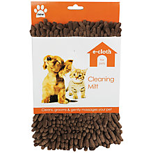 Buy E-Cloth Pet Cleaning Mitt Online at johnlewis.com