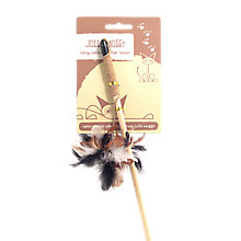 Buy Rosewood Jolly Moggy Feather Cat Teaser Online at johnlewis.com
