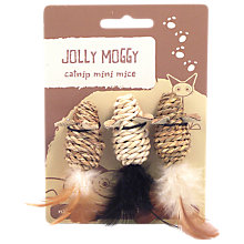 Buy Rosewood Jolly Moggy Mini Mice, Pack of 3 Online at johnlewis.com