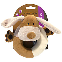 Buy Rosewood Natural Nippers Cuddle Plush Puppy Ring Online at johnlewis.com