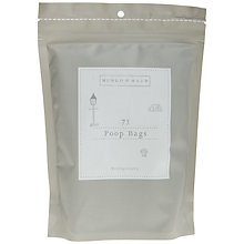 Buy Mungo & Maud Biodegradable Poop Bags, Pack of 75 Online at johnlewis.com