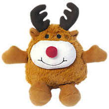 Buy Rosewood Roly Reindeer Ball Dog Toy Online at johnlewis.com