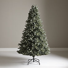 Buy John Lewis Vintage Blue Christmas Tree, 7ft Online at johnlewis.com