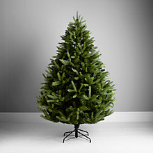 Buy John Lewis Peardrop Christmas Tree, Green, 7ft Online at johnlewis.com