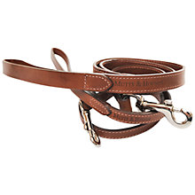 Buy Mutts & Hounds Slim Leather Dog Lead Online at johnlewis.com