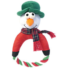 Buy Rosewood Snowman Rope Tug Dog Toy Online at johnlewis.com