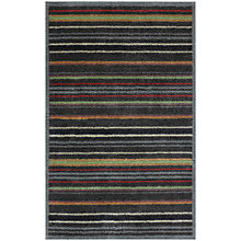 Buy Turtle Mat Graphic Stripe Runner Mat, L120 x W75cm, Multi Online at johnlewis.com