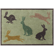 Buy Turtle Mat Country Living Collection Hares Doormat Online at johnlewis.com