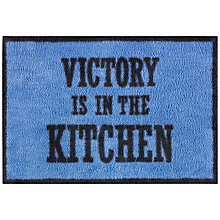 Buy Turtle Mat Imperial War Museums Victory Kitchen Doormat, Blue Online at johnlewis.com