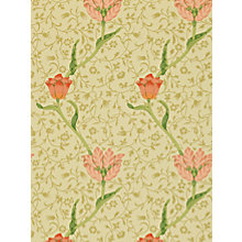 Buy Morris & Co Garden Tulip Wallpaper Online at johnlewis.com