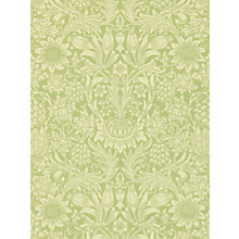 Buy Morris & Co Sunflower Wallpaper Online at johnlewis.com