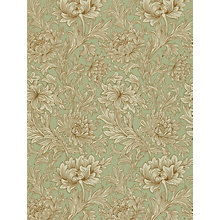 Buy Morris & Co Chrysanthemum Toile Wallpaper Online at johnlewis.com