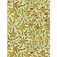 Buy Morris & Co Fruit Wallpaper Online at johnlewis.com