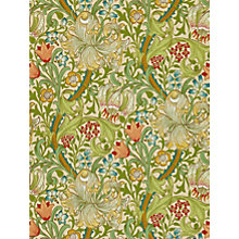 Buy Morris & Co Golden Lily Wallpaper Online at johnlewis.com