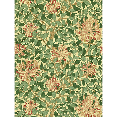 Buy Morris & Co Honeysuckle Wallpaper Online at johnlewis.com