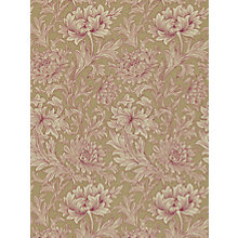 Buy Morris & Co Chrysanthemum Wallpaper Online at johnlewis.com