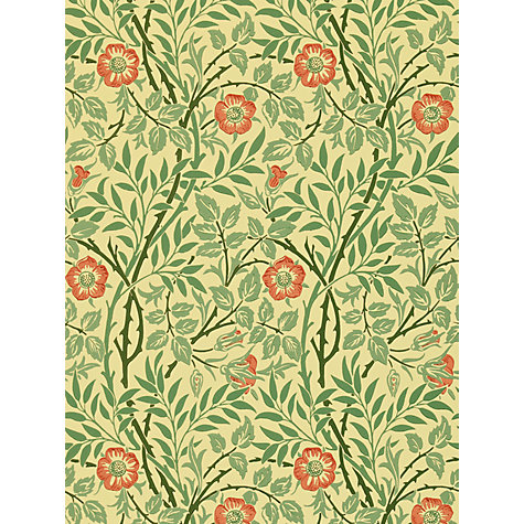 Buy Morris & Co Sweet Briar Wallpaper Online at johnlewis.com