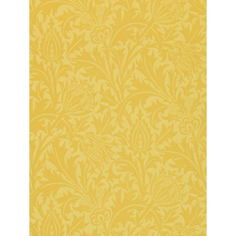 Buy Morris & Co Thistle Wallpaper Online at johnlewis.com