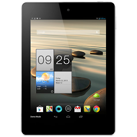"Buy Acer Iconia A1-810 Tablet, MediaTek MTK, Android, 7.9"", Wi-Fi, 16GB, White Online at johnlewis.com"