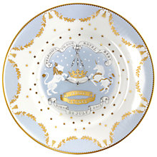 Buy Royal Collection Trust Royal Baby Plate, Dia.23cm, Multi Online at johnlewis.com