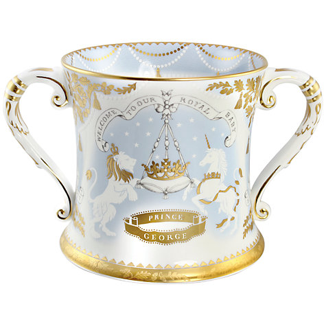 Buy Royal Collection Trust Royal Baby Limited Edition Loving Cup Online at johnlewis.com