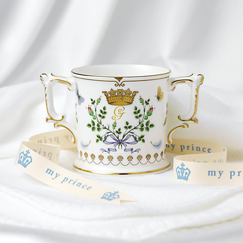Buy Royal Crown Derby Royal Baby Loving Cup, Multi Online at johnlewis.com