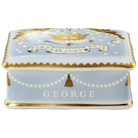 Buy Royal Collection Trust Royal Baby Pillbox Online at johnlewis.com