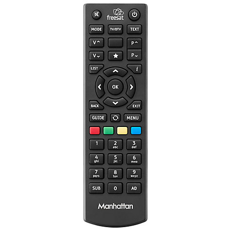 Buy Manhattan Plaza HD-S2 Smart freesat HD Digital Receiver Online at johnlewis.com