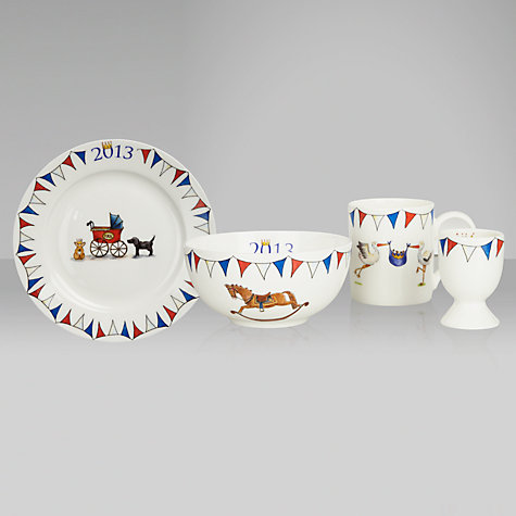 Buy Milly Green Royal Baby Collection Tableware Set Online at johnlewis.com