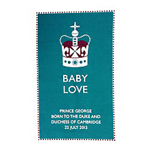 Buy The Design Mould Royal Baby Tea Towel Online at johnlewis.com