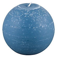 Buy Broste Rustic Ball Candle, Dia.12cm Online at johnlewis.com