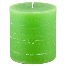 Buy Broste Large Rustic Pillar Candle, H11cm Online at johnlewis.com