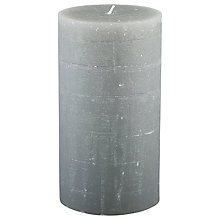 Buy Broste Large Rustic Pillar Candle, H18cm Online at johnlewis.com