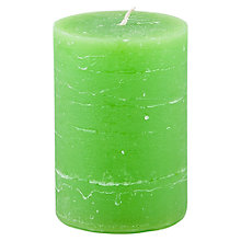 Buy Broste Rustic Pillar Candle, H10cm Online at johnlewis.com