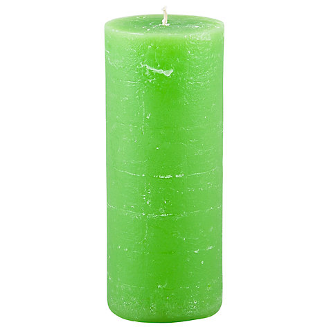 Buy Broste Rustic Pillar Candle, H17cm Online at johnlewis.com
