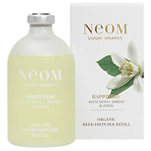 Buy Neom Happiness Diffuser Refill, 100ml Online at johnlewis.com