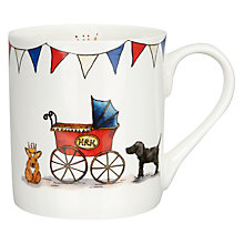 Buy Milly Green Royal Baby Collection Pram Mug Online at johnlewis.com