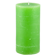 Buy Broste Rustic Pillar Candle, H13.5cm Online at johnlewis.com