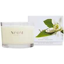 Buy Neom Happiness 3 Wick Scented Candle Online at johnlewis.com