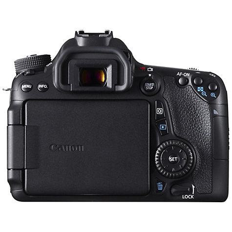 "Buy Canon EOS 70D Digital SLR Camera with 18-135mm IS STM Lens, HD 1080p, 20.2MP, Wi-Fi, 3"" LCD Screen Online at johnlewis.com"