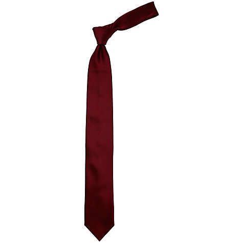 Buy Chester Barrie Satin Plain Silk Tie Online at johnlewis.com